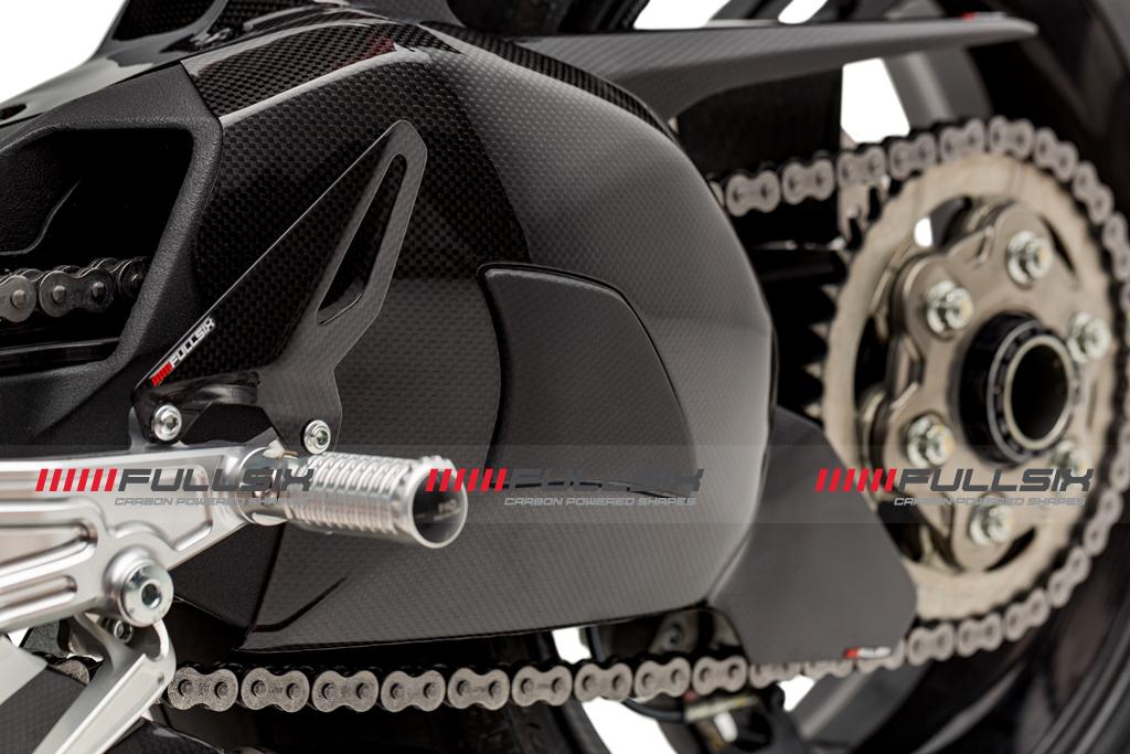 Fullsix Ducati Panigale V4 Carbon Fibre Heel Guards