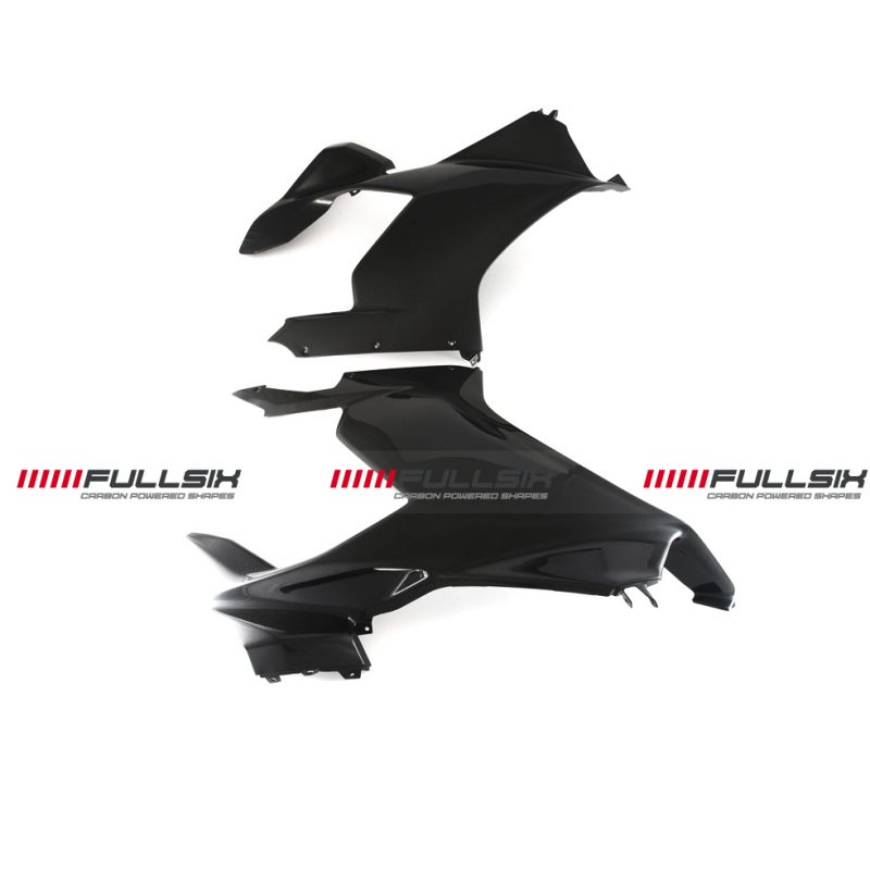 Fullsix Ducati Panigale V4 Carbon Fibre Side Upper Fairing Set