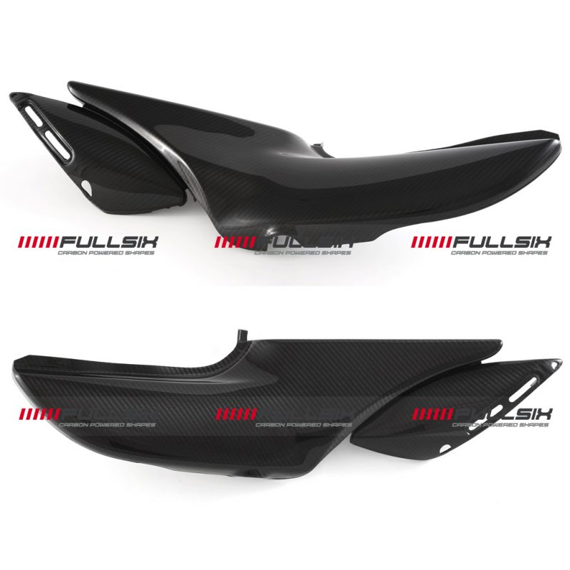 Fullsix Kawasaki Z900RS Carbon Fibre Underseat Fairing Panels Set