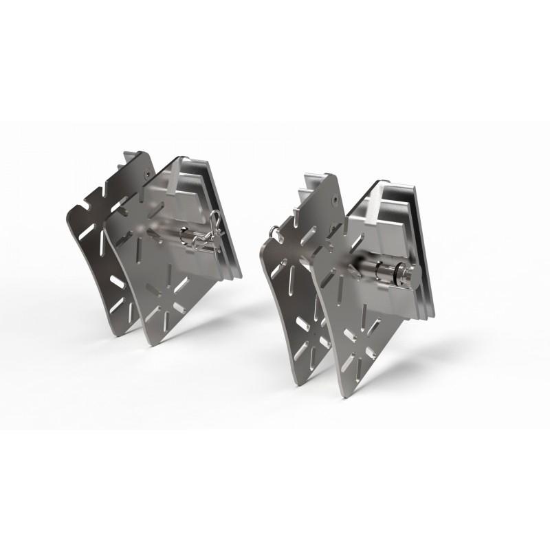 Yamaha Race Brake Caliper Intake Coolers