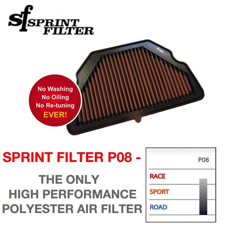 Sprint Filter Honda CBR6000RR P08 Air Filter 2004 - 2006