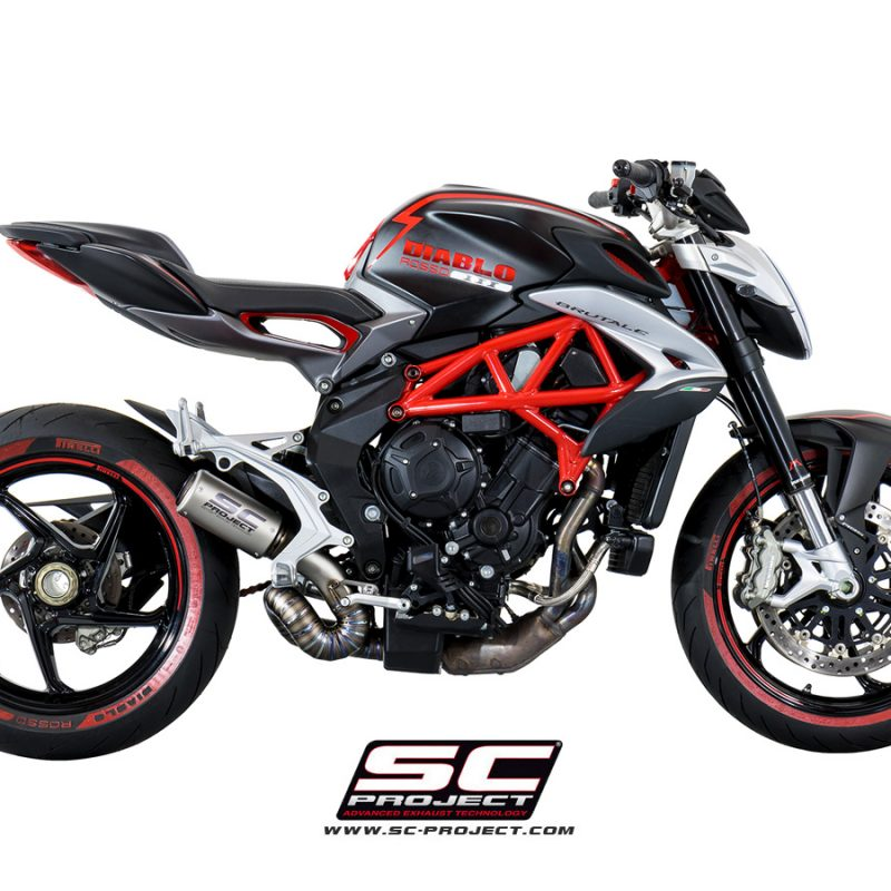 SC Project Exhaust MV Agusta Rivale CR-T Silencer