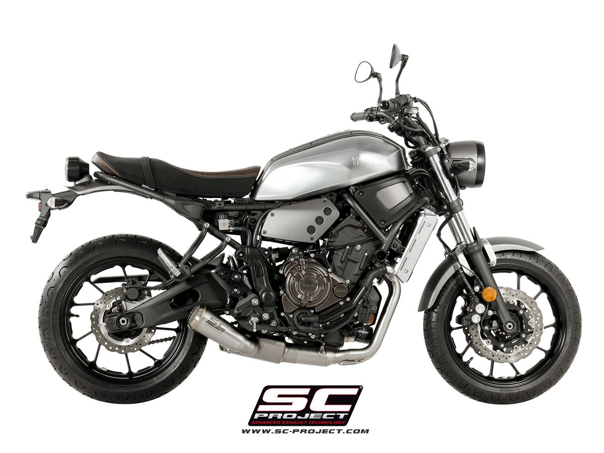 sc project exhaust yamaha mt 07 full exhaust system 2 1 conic 39 70s silencer. Black Bedroom Furniture Sets. Home Design Ideas