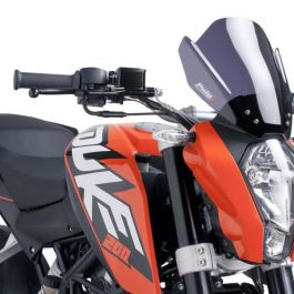 Puig KTM 200 Duke Naked New Generation Sport Racing Screen 2015+