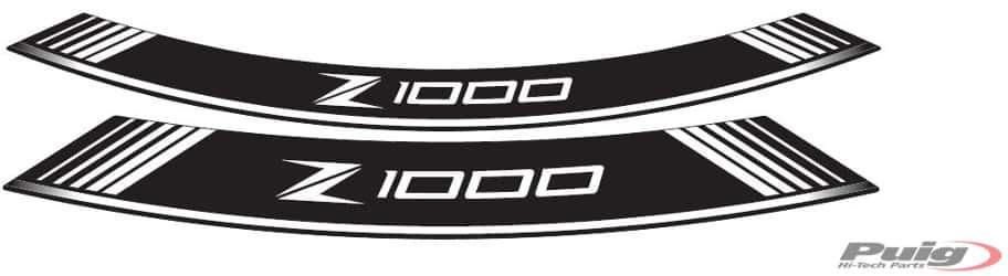 Puig KAWASAKI Z1000SX Rim Strips Specials2011+