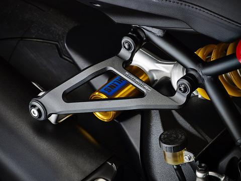 Evotech Performance Ducati Monster 821 1200 S R Exhaust Hanger Bracket Blanking Plate