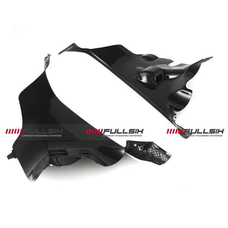 Fullsix Ducati Panigale V4 Carbon Fibre Air Intake Covers