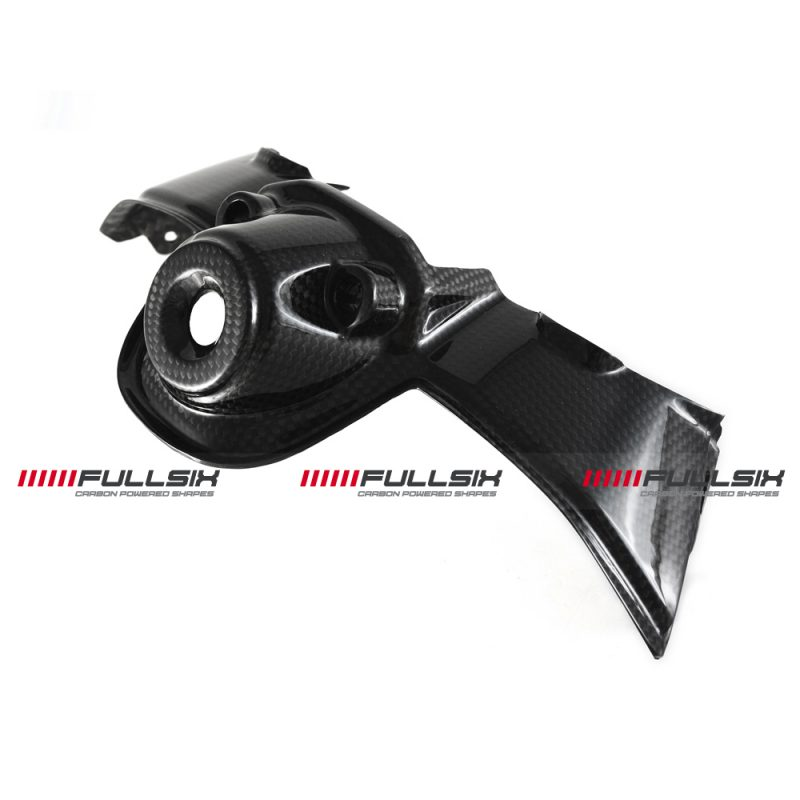Fullsix Ducati Panigale Streetfighter V4 Carbon Fibre Key Guard Cover