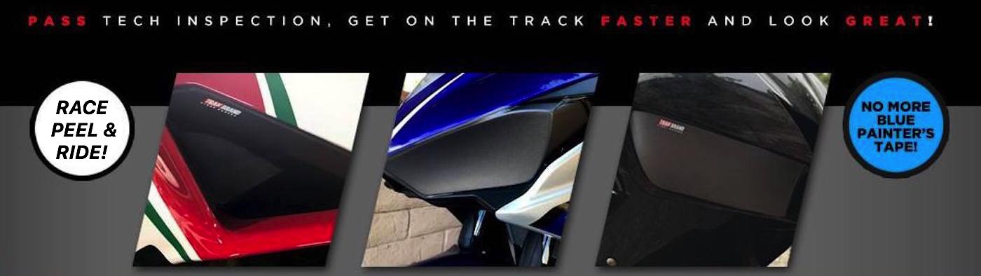 TrakBrand Ducati 848 1098 1198 Racing Light Covers