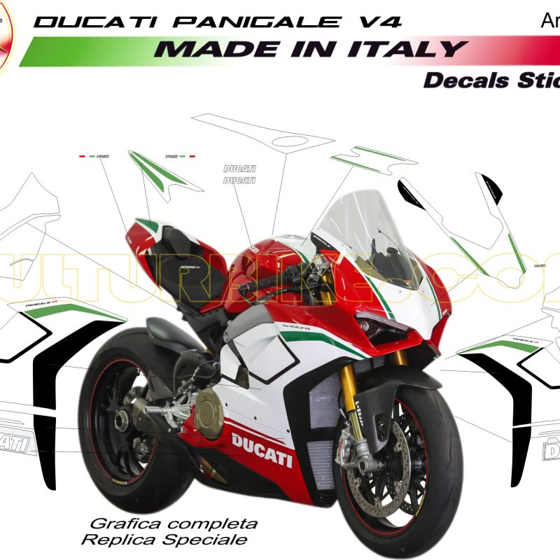 Vulturbike Ducati Panigale V4 Speciale Decal Sticker Kit