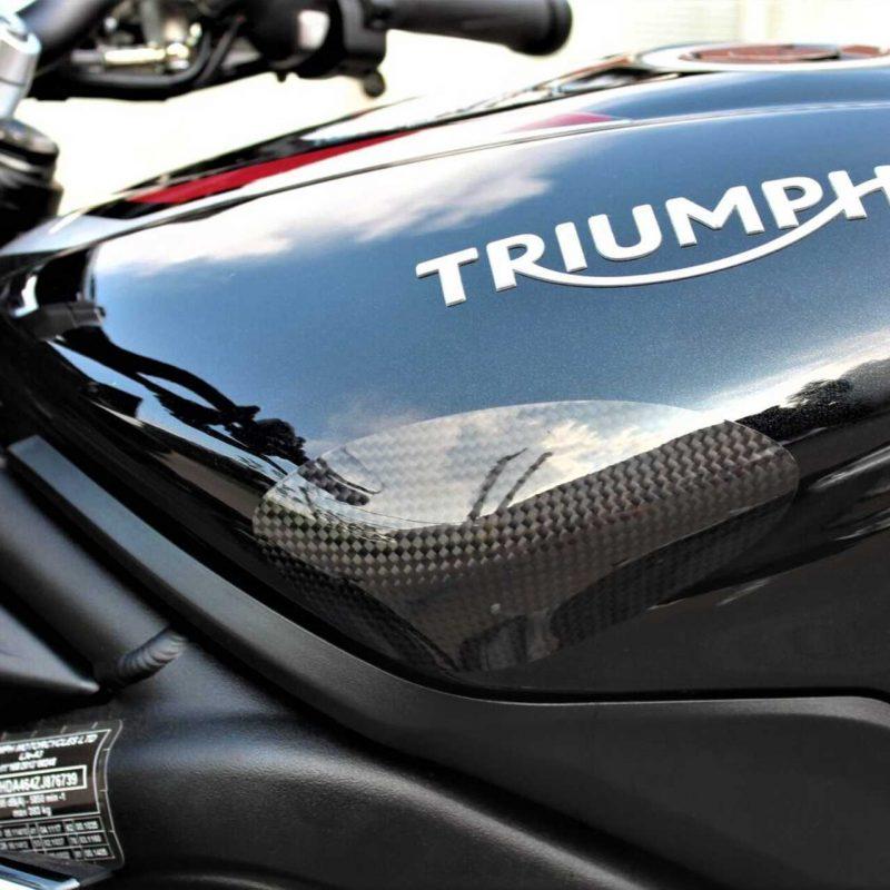 Strauss Triumph Carbon Fibre Tank Sliders