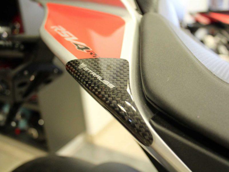 Strauss Aprilia RSV4 / RR RF Carbon Fibre Tail Sliders 2009+