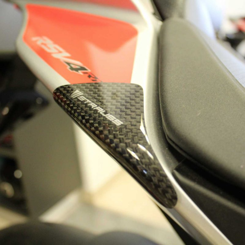 Strauss Aprilia RSV4 / RR RF Carbon Fibre Tail Sliders 2009+