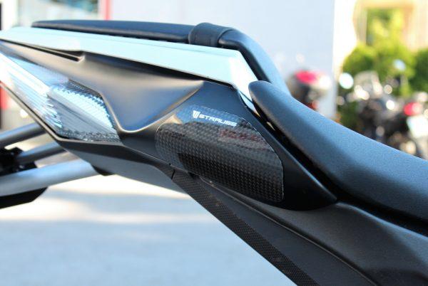 Strauss Kawasaki ZX-10R Carbon Fibre Tail Sliders Satin 2011-2015