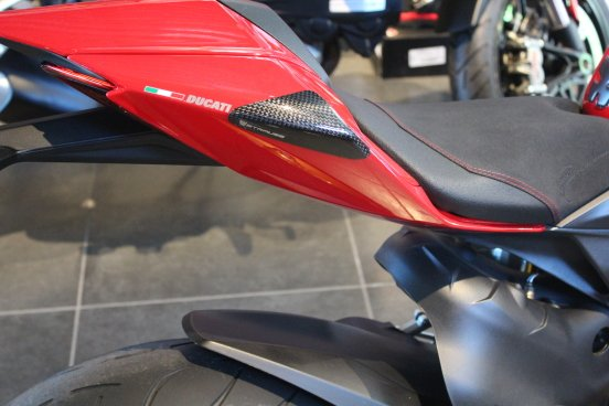 Strauss Ducati 899 1199 Carbon Fibre Tail Sliders