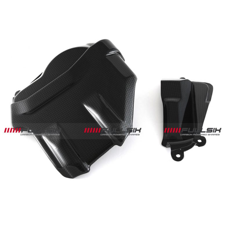 Fullsix Ducati Panigale V4 Carbon Fibre Bulk Head Engine Covers