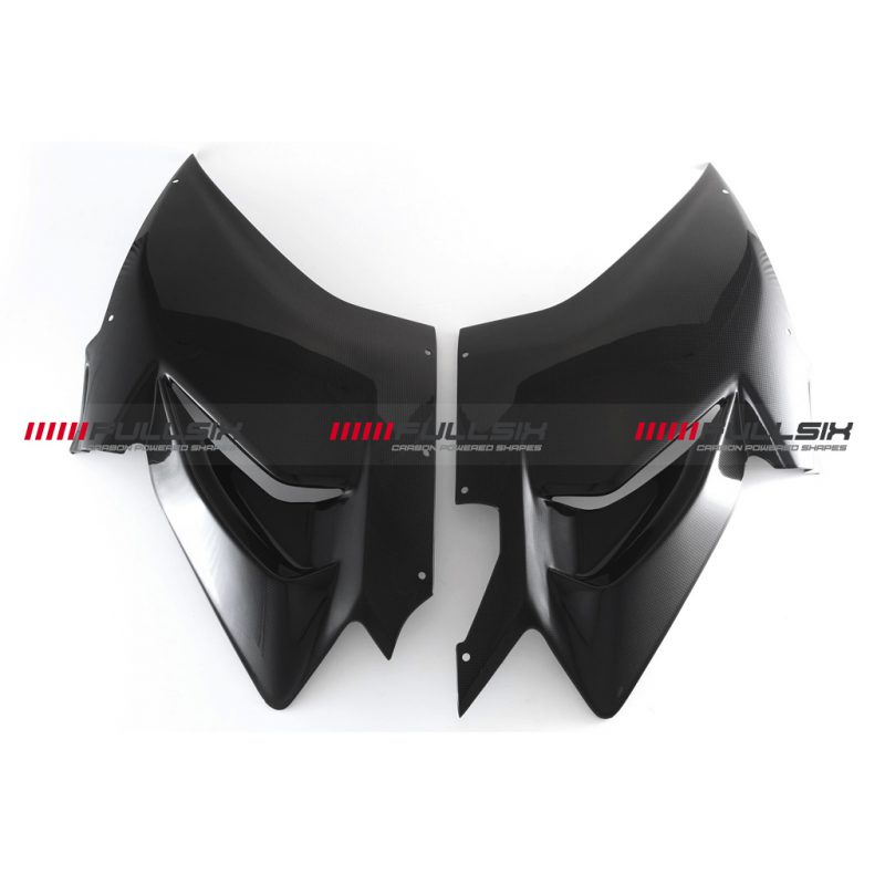 Fullsix Ducati Panigale V4 Carbon Fibre Side Fairings Racing