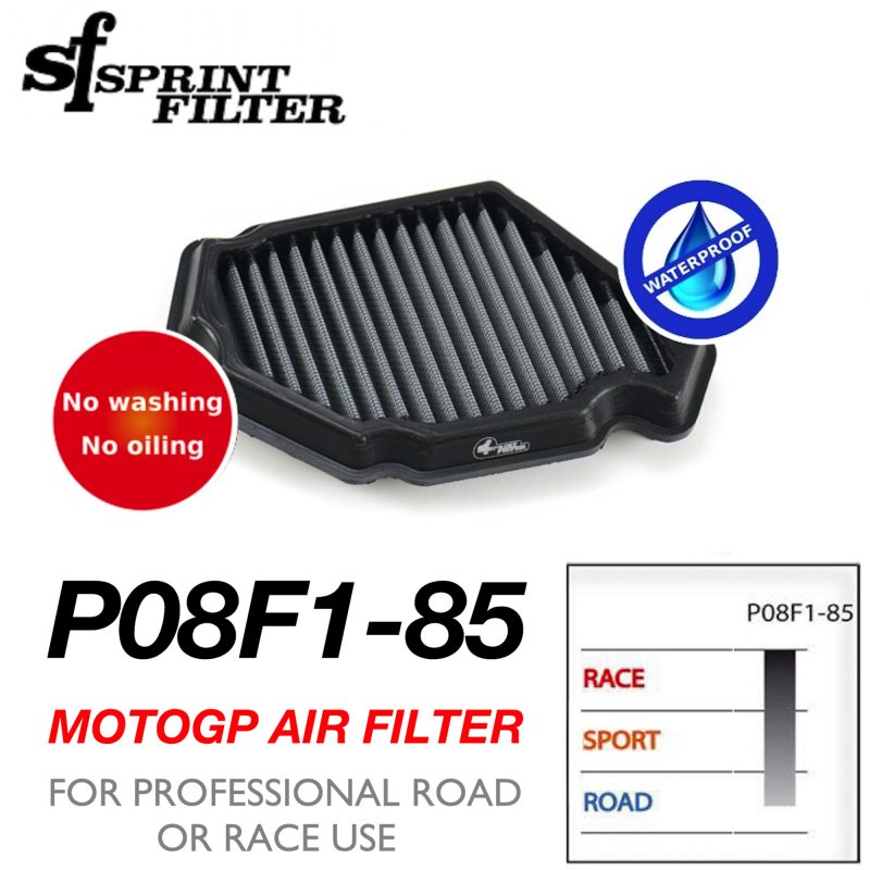 Sprint Filter Kawasaki H2 H2R Air Filter P08F1-85