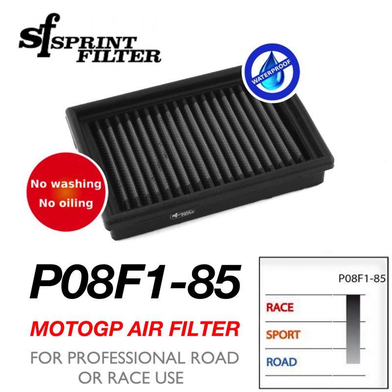 Sprint Filter Aprilia P08F1-85 Air Filter