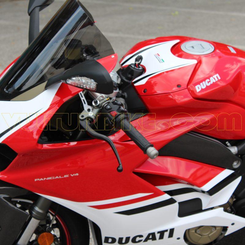 Vulturbike Ducati Panigale V4 Custom Black Decal Sticker Kit