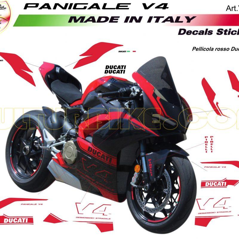 Vulturbike Ducati Panigale V4 Mamba Decal Sticker Kit