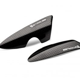 Strauss Triumph Carbon Fibre Tail Sliders Gloss