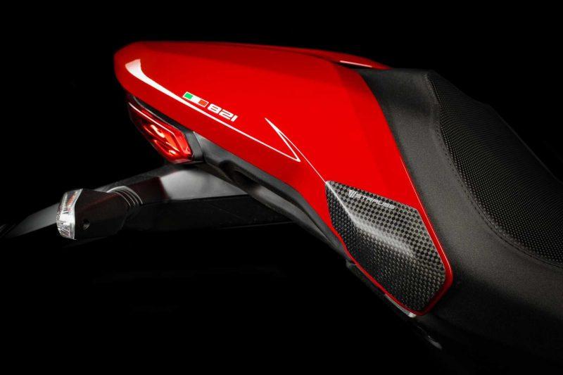 Strauss Ducati Monster 821 1200 1200S Carbon Fibre Tail Sliders Satin