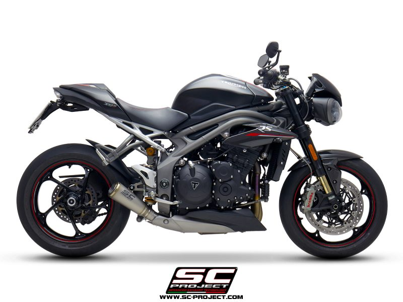 SC Project Exhaust Triumph Speed Triple S RS S1-GP Silencer 2018+