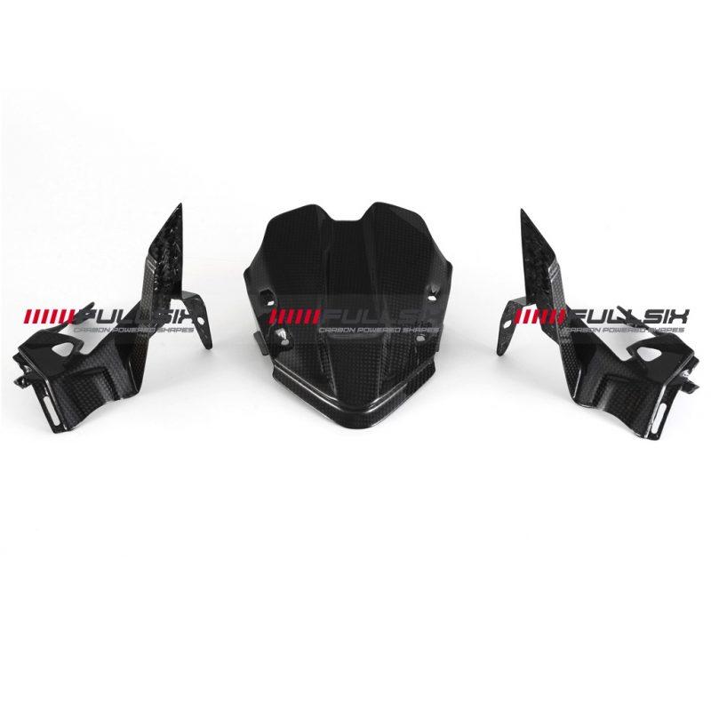 Fullsix Ducati Panigale V4 Carbon Fibre Instrument Dash Covers NON-GPS