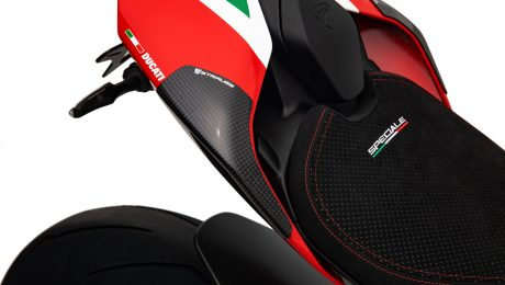 Strauss Ducati Panigale V4 Carbon Fibre Tail Sliders Gloss
