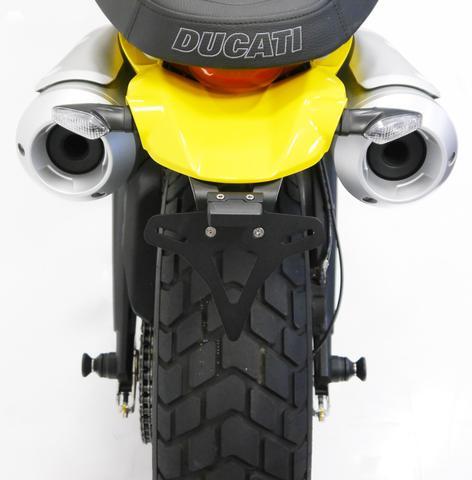Evotech Performance Ducati Scrambler 1100 Tail Tidy Plate Holder 2018+