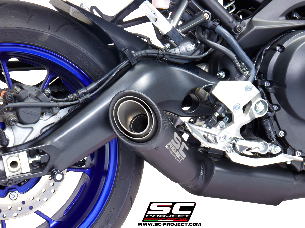 sc project exhaust yamaha mt 09 full exhaust system 3 1. Black Bedroom Furniture Sets. Home Design Ideas