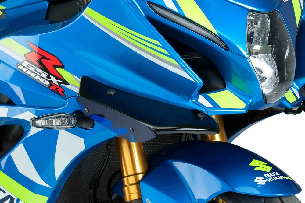 PUIG Suzuki GSX-R1000 Downforce Racing Spoiler Wings 2017+