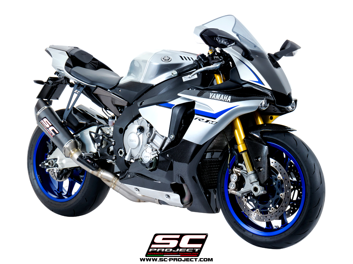 SC Project Exhaust Yamaha YZF R1 R1M SC1-R Silencer with De