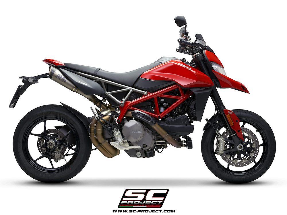 SC Project Exhaust Ducati Hypermotard 950 / SP S1 Silencers Pair 2019+