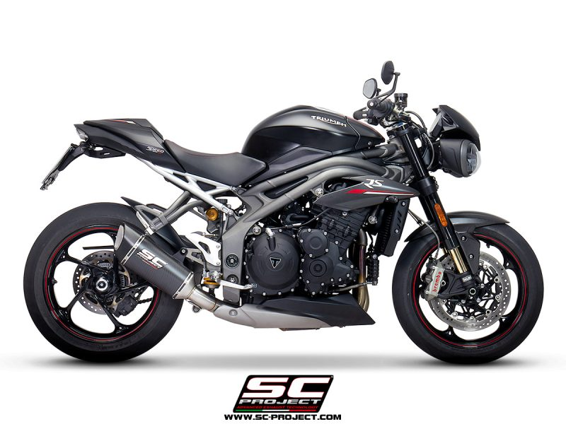 SC Project Exhaust Triumph Speed Triple S RS SC1-R Silencer 2018+