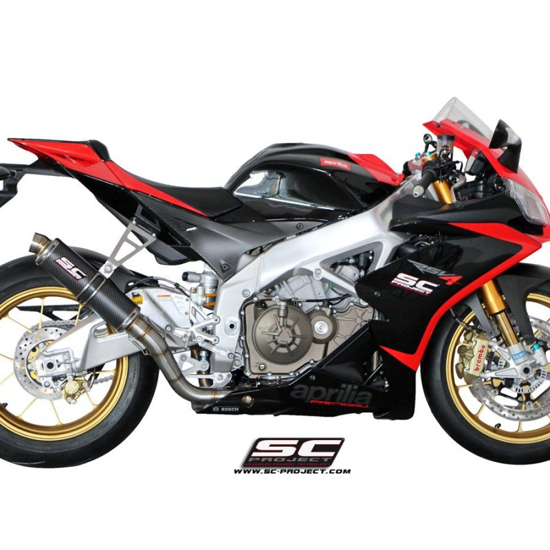 SC Project Exhaust Aprilia RSV4 GP Silencer 2009-14