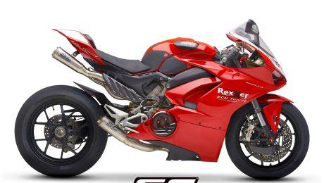 SC Project Exhaust Ducati Panigale V4 S1-GP Full Titanium System 4-2