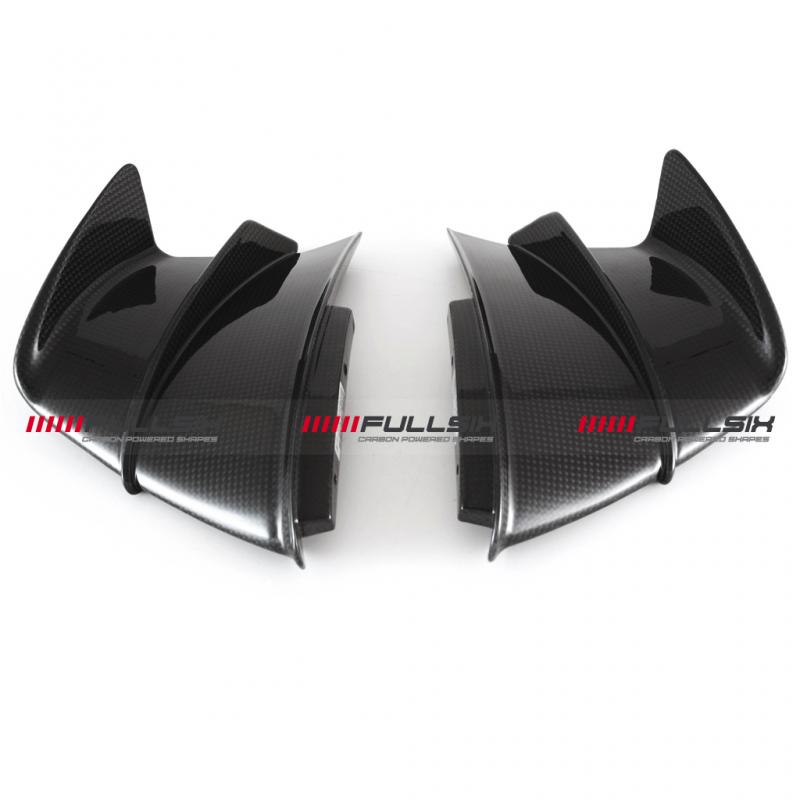 Fullsix Ducati Panigale V4 R Carbon Fibre Winglets