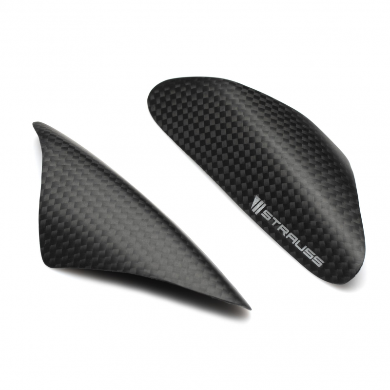 Strauss Ducati 899 1199 Panigale Carbon Fibre Tail Sliders Satin