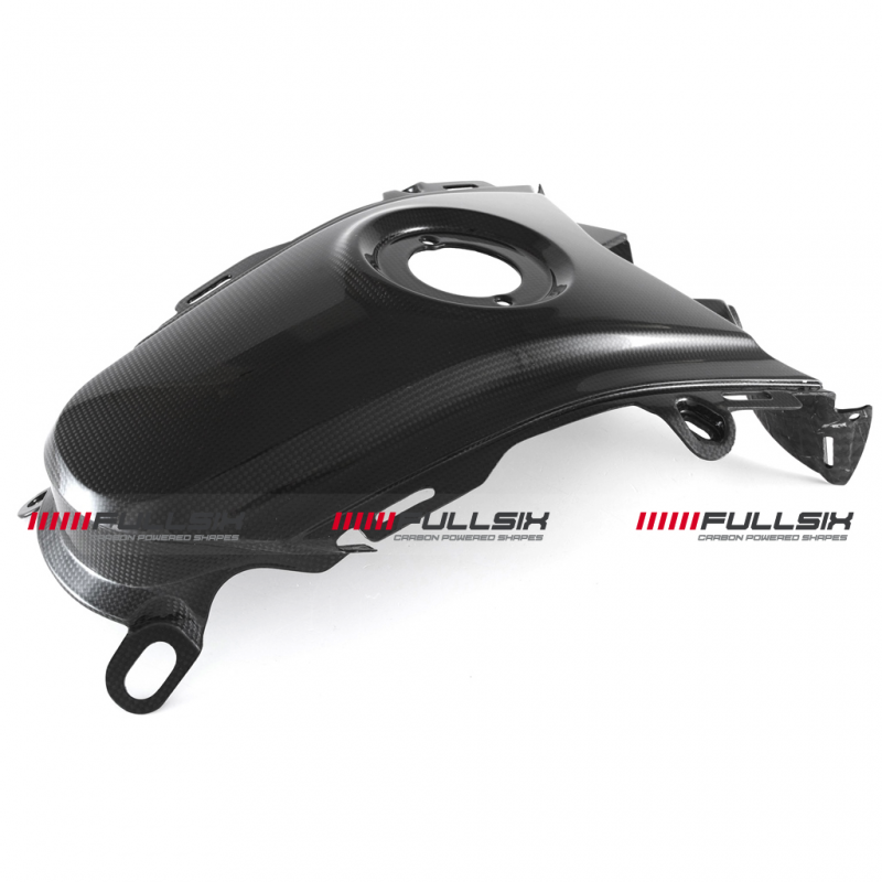 Fullsix Ducati Hypermotard 821 939 Carbon Fibre Tank Cover