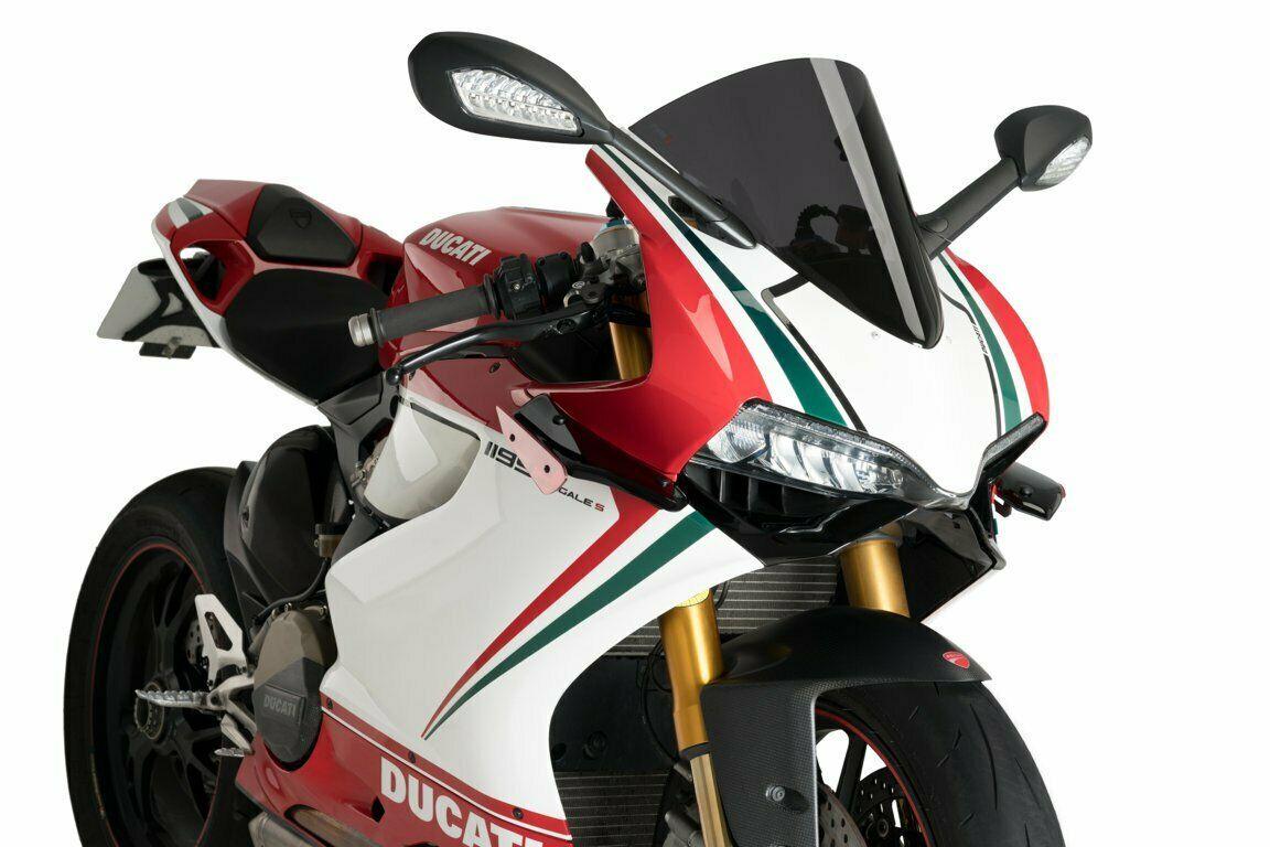Puig Ducati 899 1199 Downforce Racing Spoiler Wings