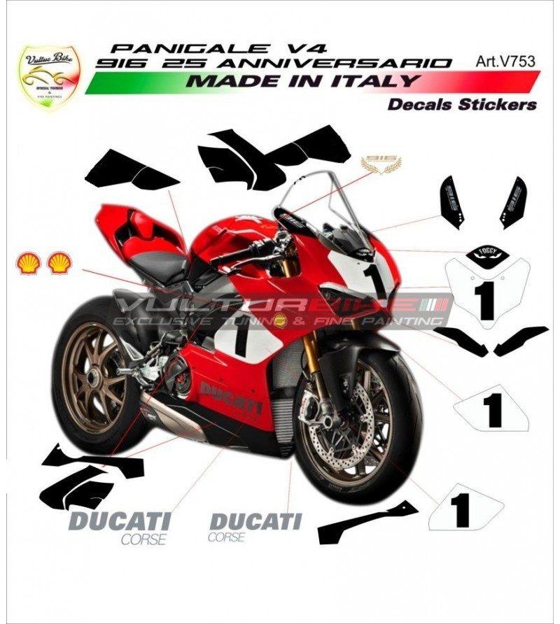 Vulturbike Ducati Panigale V4 916 25th Anniversary Decal Sticker Kit