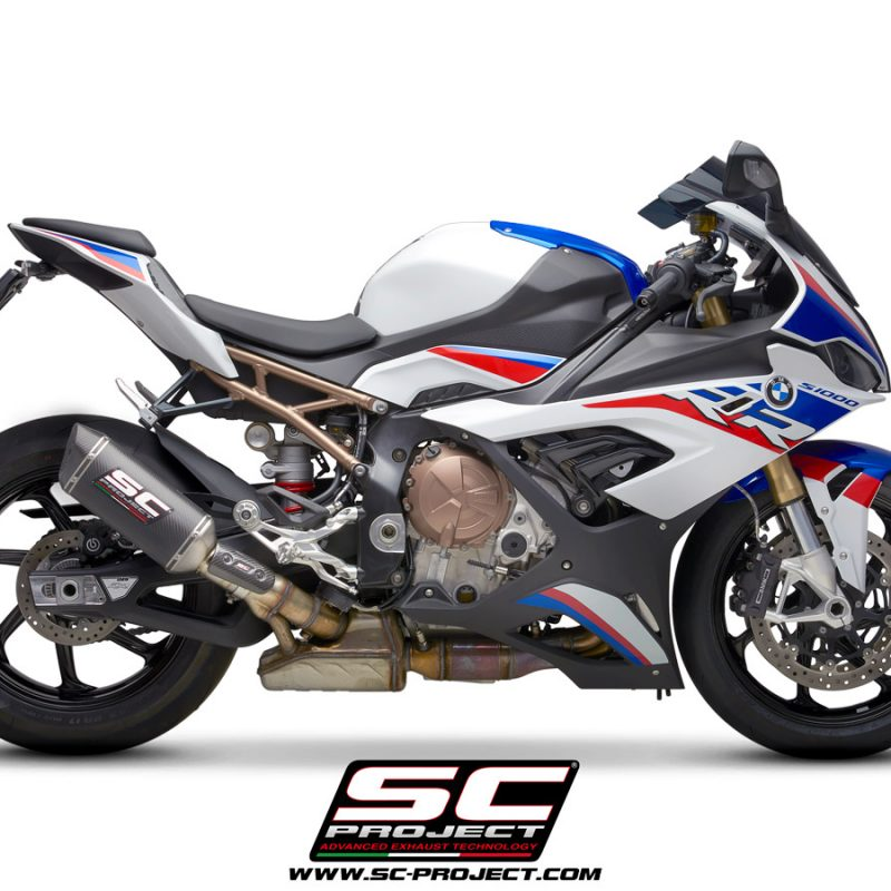 SC Project Exhaust BMW S1000RR SC1-M Silencers 2019+