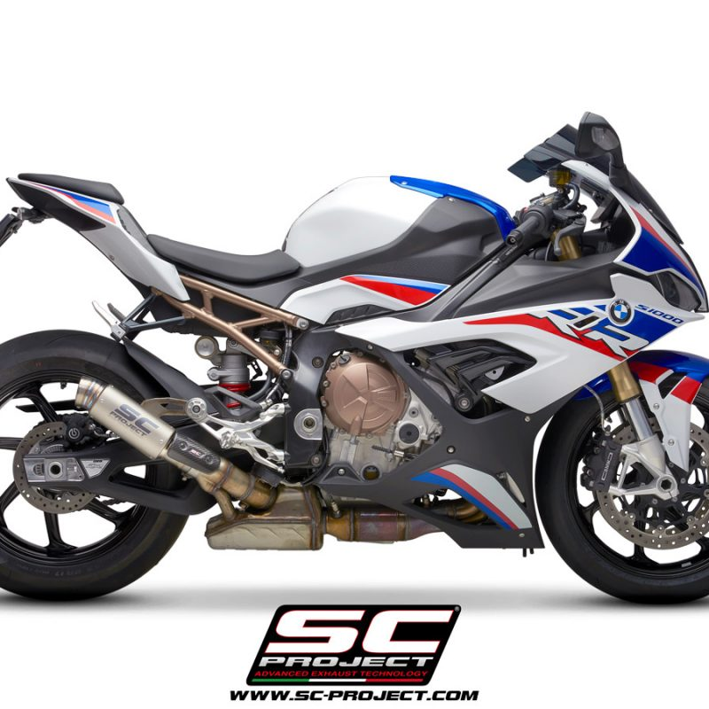 SC Project Exhaust BMW S1000RR GP70-R Silencers 2019+