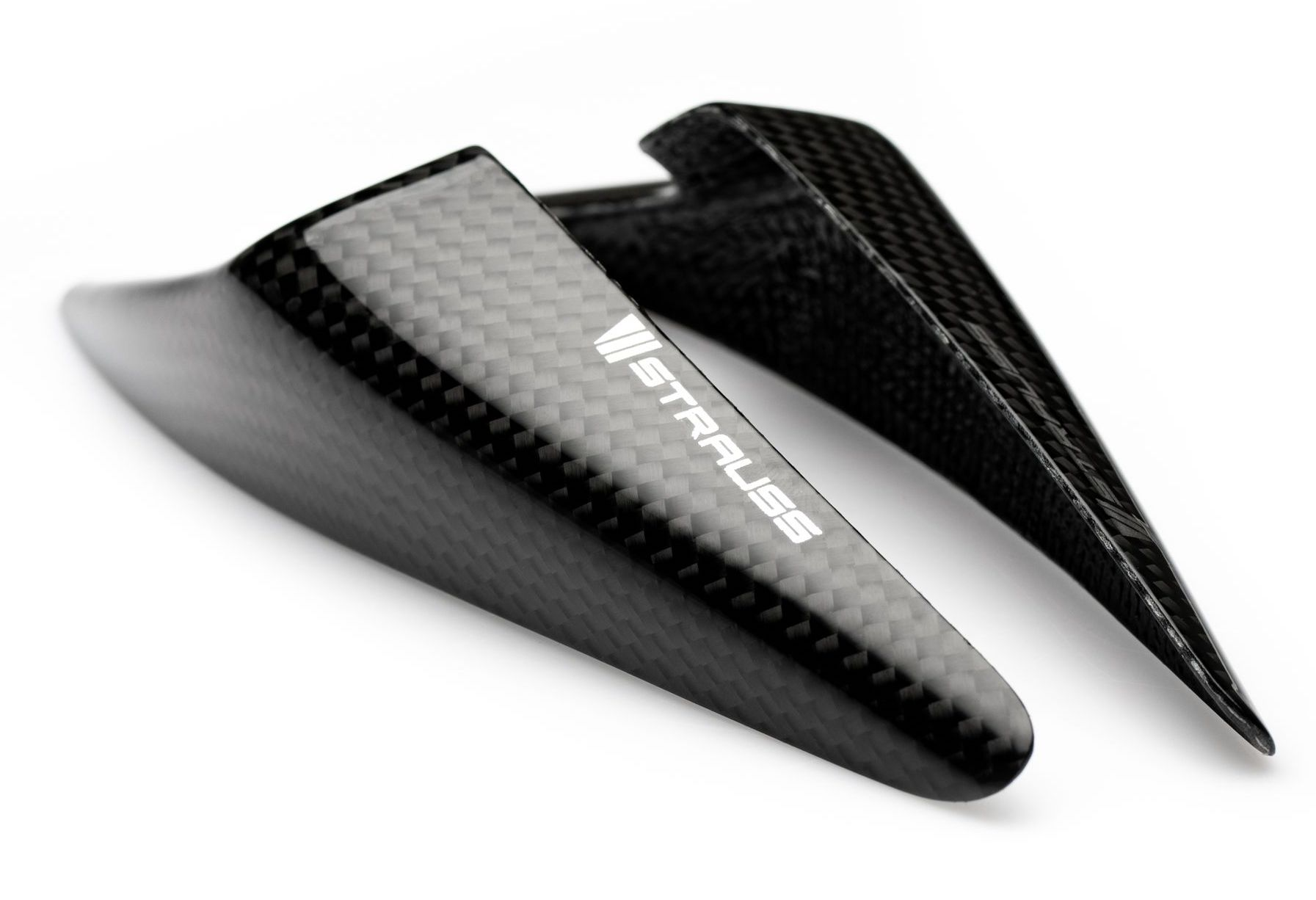 Strauss Yamaha R3 R25 Carbon Fibre Tail Sliders 2015-18