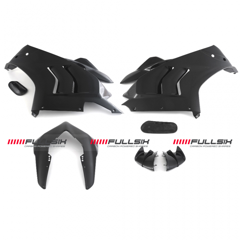 Fullsix Ducati Panigale V4R Carbon Fibre Conversion Road Fairing Kit