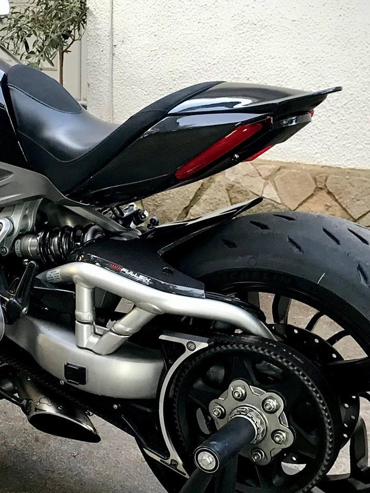 Fullsix Ducati Xdiavel Carbon Fibre Passenger Seat Cover