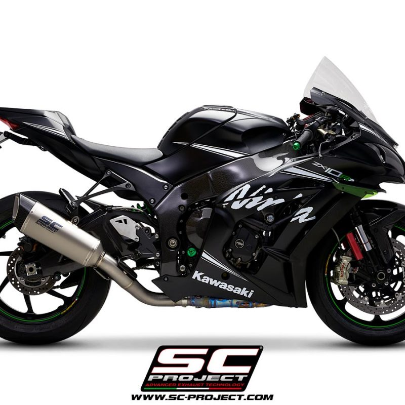 SC Project Exhaust Kawasaki Ninja ZX-10R SC1-R Silencer De-Cat 2016+