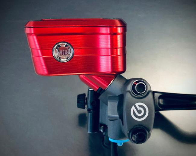MotoCorse Ducati Brembo RCS Corsa Corta Integrated Brake Clutch Reservoir Tanks